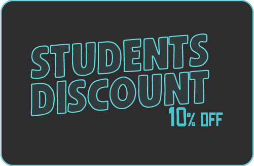 Student 10% Discount